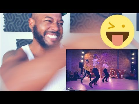 Crime Mob - Stilettos - Choreography by Aliya Janell | #TMillyTV Reaction