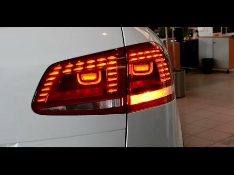 2014 original vw touareg facelift led rear light tail