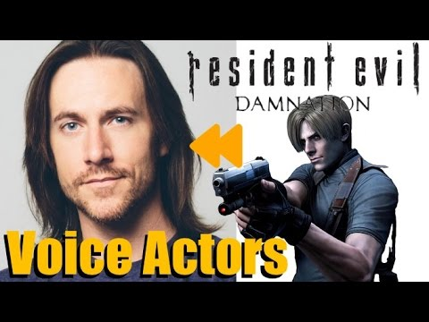 Resident Evil Damnation 2012 Voice Actors And Characters Youtube