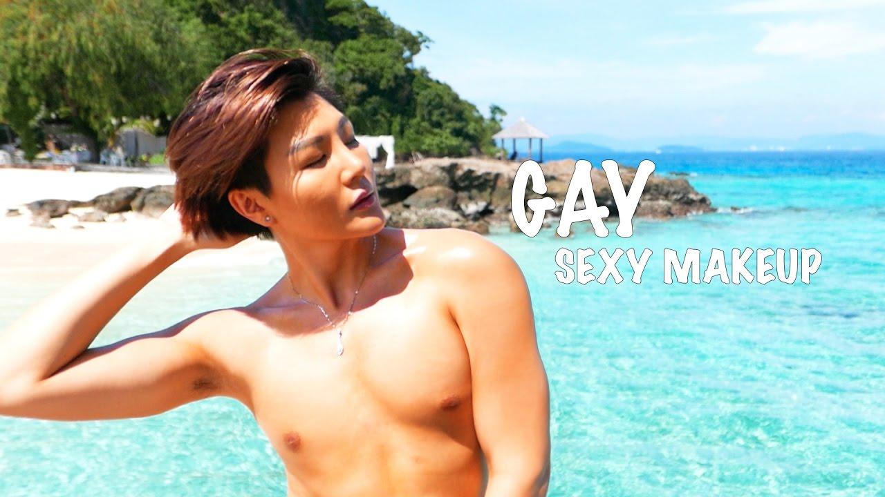 Sexy gay beach