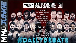 Daily Debate:  Is the featherweight tournament Bellator's best grand prix offering so far?