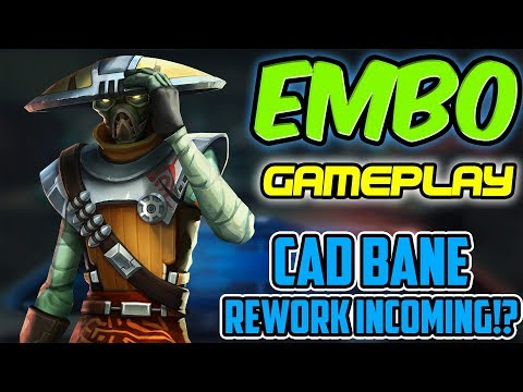 Embo Gameplay Unveiling! Cad Bane Rework Incoming!? | Star Wars: Galaxy of Heroes