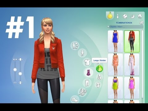 Lets Play Die Sims 4 Erstelle Einen Sim Cas Demo 1 Youtube