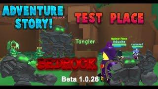 BEDROCK ESTÁ AQUI! | ROBLOX-Adventure Story Test Place #4 (beta 1.0.26)