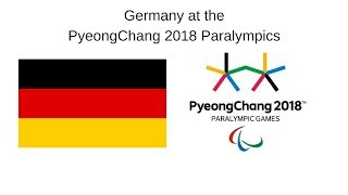 Germany at the PyeongChang 2018 Winter Paralympic Games