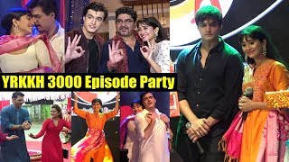 Yeh Rishta Kya Kehlata Hai 3000 Episode Celebration | Shivangi Joshi  And Mohsin Khan