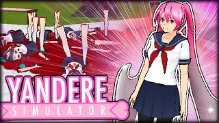 NEW INSANE EASTER EGGS - BLOODY BLADE HAIR MODE & TORNADO HANDS DEMON MODE | Yandere Simulator
