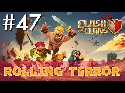 Clash of Clans - Single Player #47: Rolling Terror | Minimalist Army Playthrough