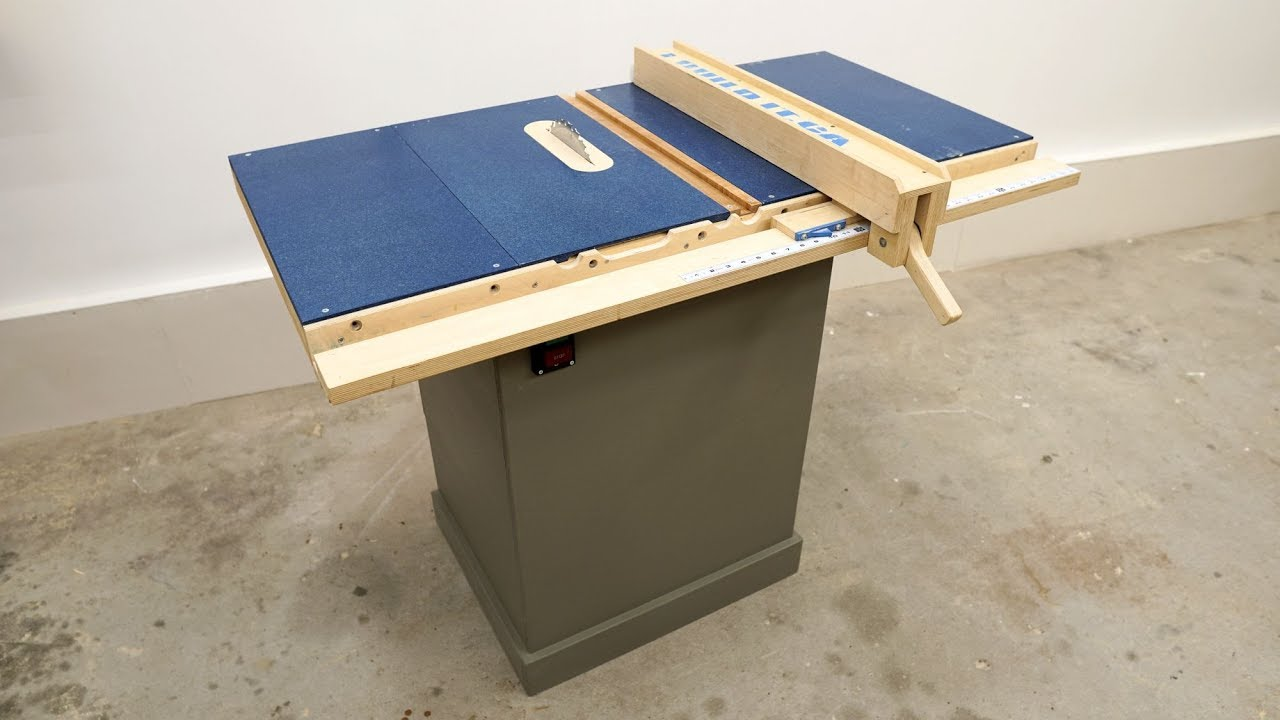 this table saw is pretty slick, here's how i made it