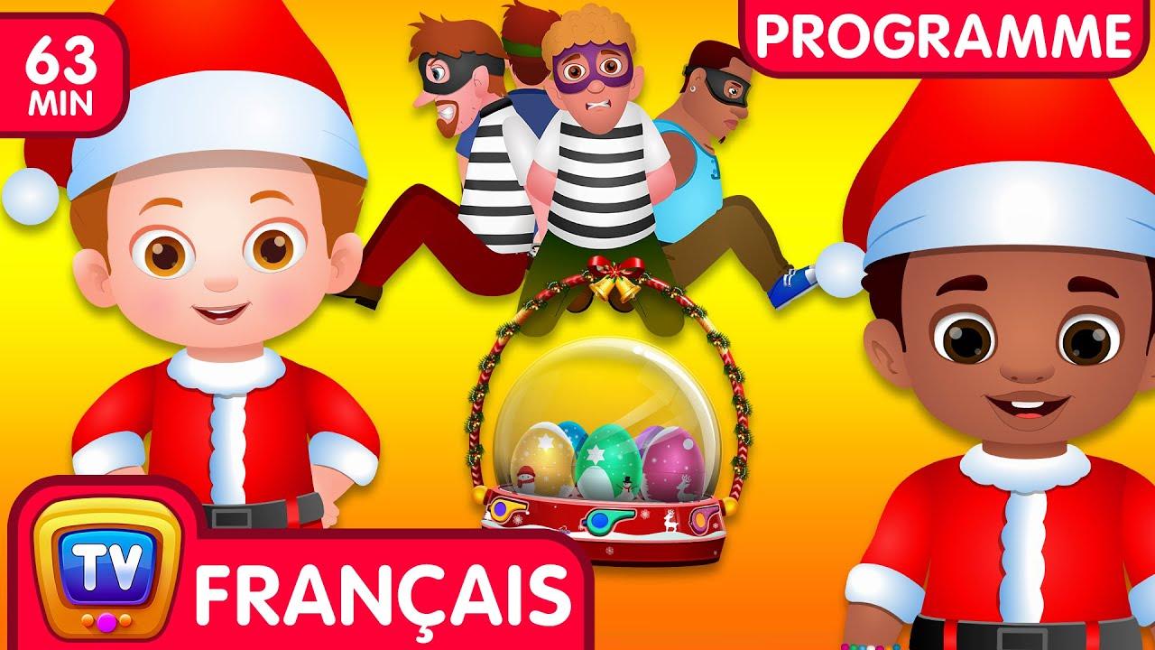 Sauver les cadeaux surprises de Noël (Collection) | Ep. 13 | ChuChu TV Police Des Oeufs Surprises