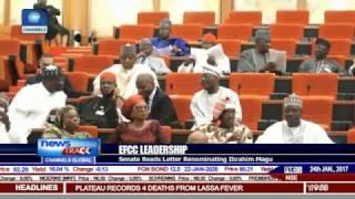 EFCC Leadership: Senate Reads Letter Renominating Ibrahim Magu