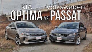 2016 Kia Optima vs 2016 Volkswagen Passat