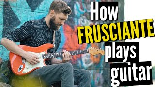 Why do so many play this riff wrong #5 | John Frusciante