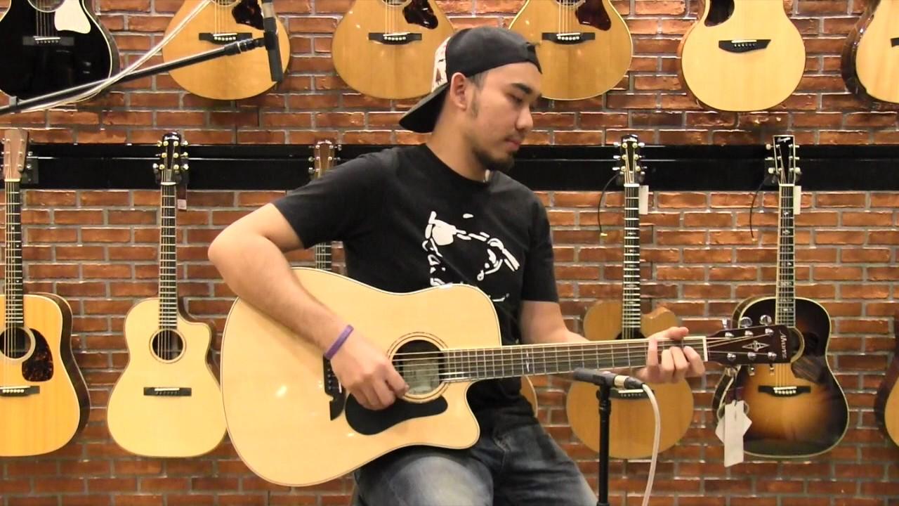 Alvarez Ad70Sc Acoustic Electric Guitar alvarez ad70ce