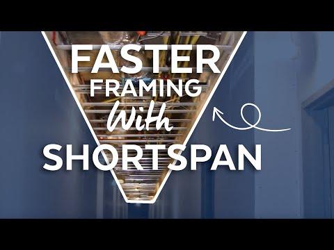 ShortSpan Drywall Grid Demo - For spans under 14 feet.