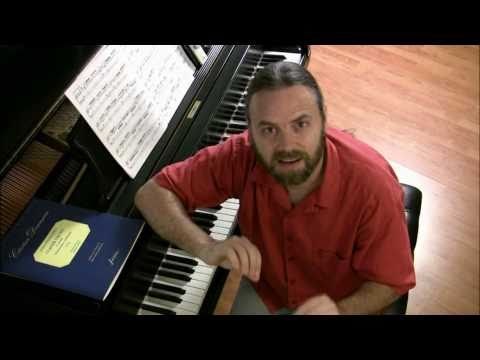 """(1/2) How To Play Bach's """"Goldberg Aria"""" 