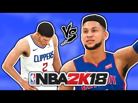 1st Team All Rookie VS 2nd Team All Rookie NBA 2K18 CHALLENGE!