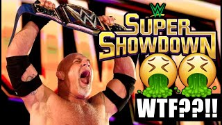 WWE Super Show Down 2020 Full Show RESULTS and REVIEW