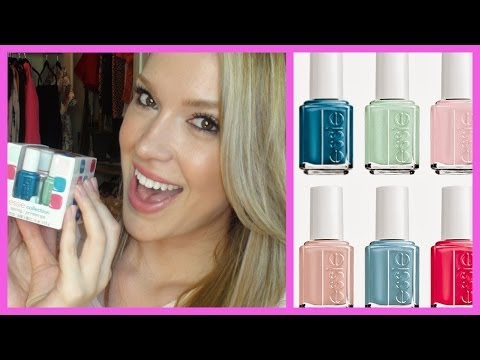 NEW Essie 2014 Spring Collection Review!