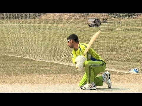 For Pakistan's blind, cricket offers hope