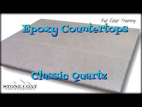 Epoxy Countertops Classic Quartz Color training