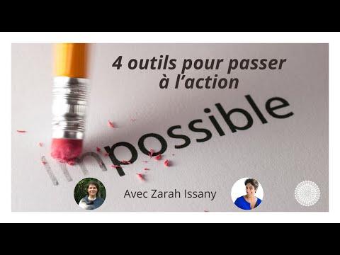 4 outils pour passer à l'action - Nathalie Augot reçoit Zarah Issany