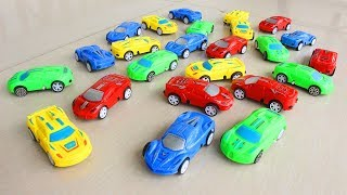 Colors for Children to Learn with Toy Super Cars for Kids Learning Colors Toddlers Educational Video