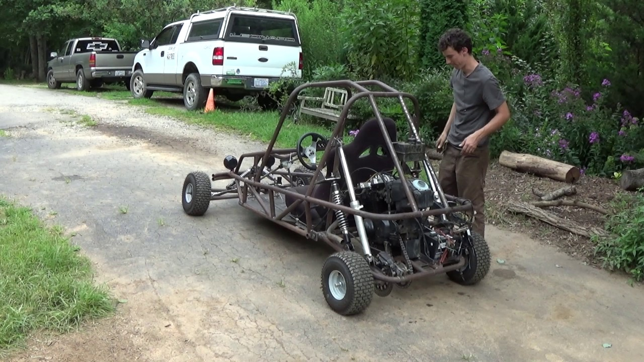 Suzuki gs500 mini buggy build part 7 it\'s finally running...sort of ...