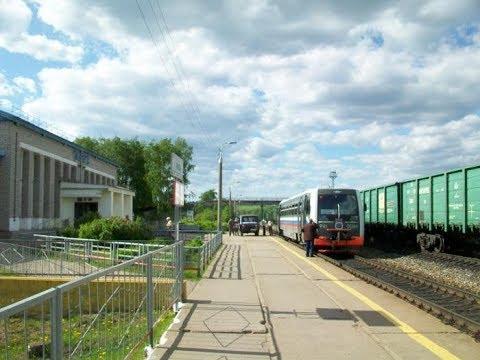 Несколько минут на станции Луза