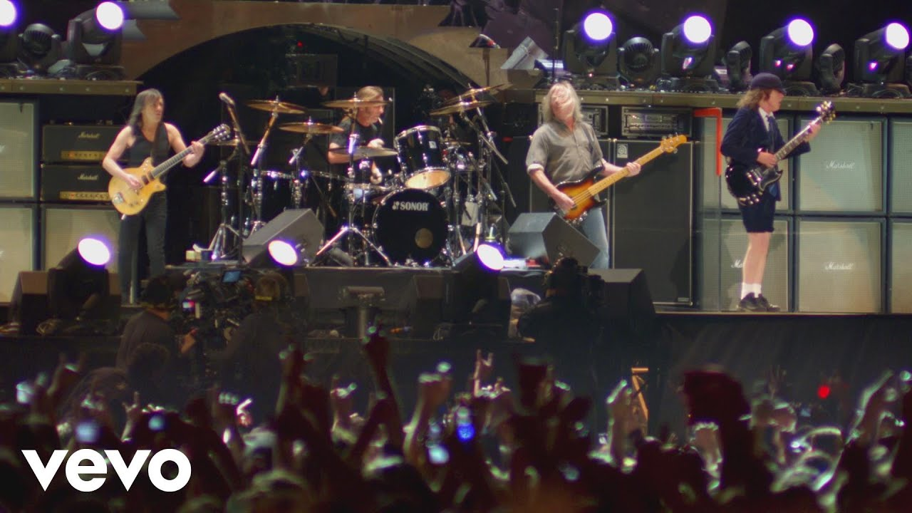 Ac Dc Back In Black Live At River Plate December 2009 Youtube