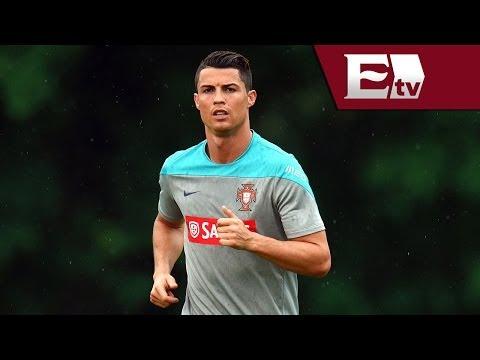 Cristiano Ronaldo realizó práctica ligera con Portugal debido una lesión/ Gerardo Ruiz