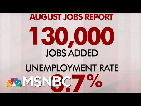 August Jobs Report: 130,000 Jobs Added, Unemployment Stays At 3.7 Percent | Morning Joe | MSNBC