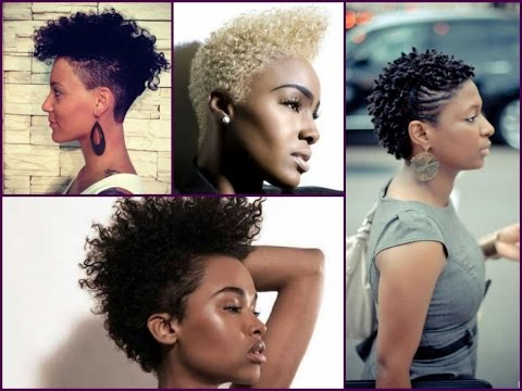 Best Tapered Haircut For Black Women! YouTube