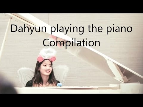 TWICE Dahyun Playing The Piano