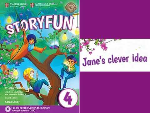 STORYFUN 4 - 1: JANE'S CLEVER IDEA