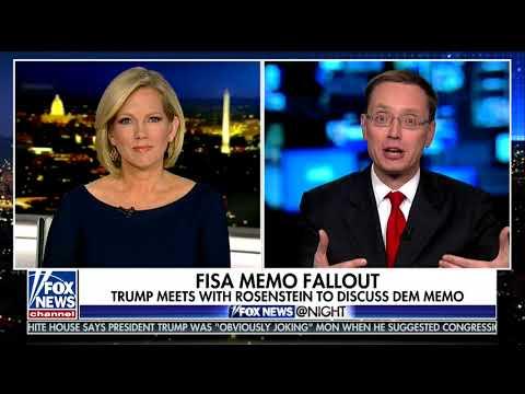 Fox News @ Night - Shannon Bream - February 6, 2018 - Archive