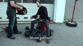 Holger`s fahrende Bierkiste Testfahrt 2009