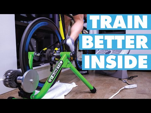INDOOR BIKE TRAINING FOR BEGINNERS �� 5 tips that will make you faster #TrainerRoad #Zwift