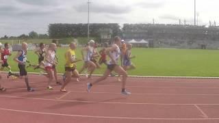 1500m M50 - Championnats de France Masters 2018 à Angers