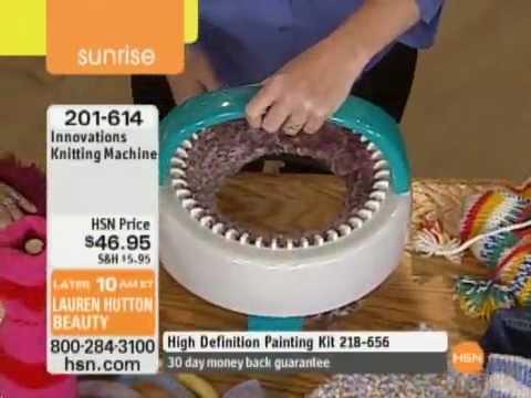 More Knitting Wheel Fashions : Innovations knitting machine youtube