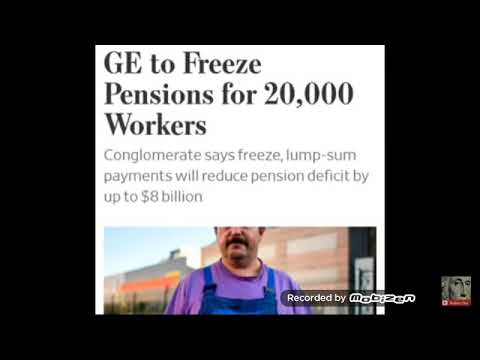 General Electric freezes pensions on 20,000 employees