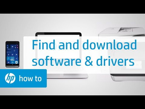 Finding And Downloading Software & Drivers | HP Products | HP