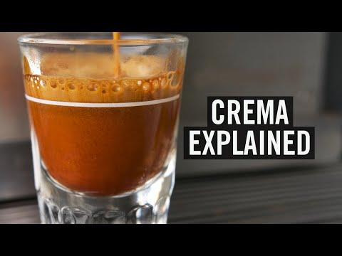 Crema Explained