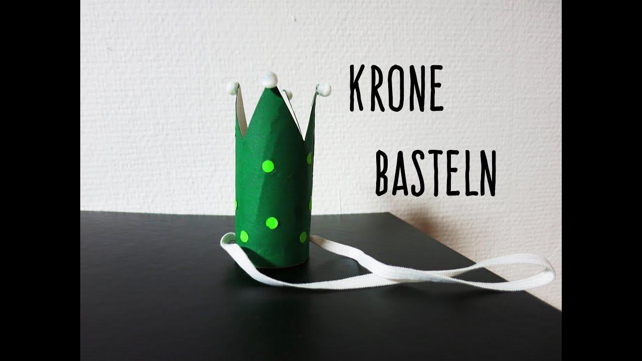 Geburtstag Krone basteln| Fasching| Kindertipp - YouTube