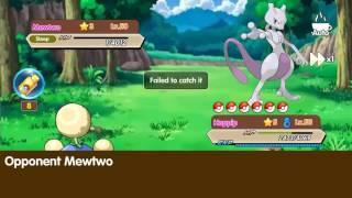 Pocket Monster #1 Mewtwo Capture