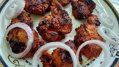 Indian Chicken Tikka Recipe Without Tandoor And Oven | तंदूरी चिकन टिक्का | Mazedar Kitchen