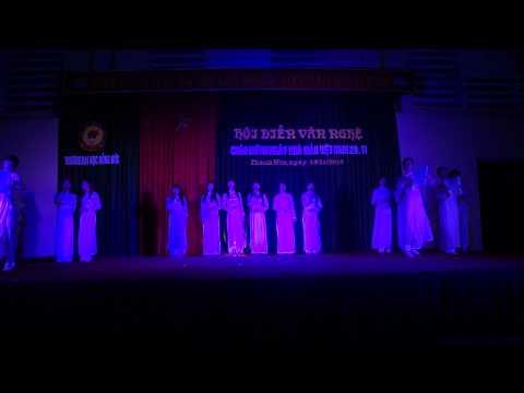 Múa Bài Ca Cô Giáo Trẻ - K13B - SP Mầm Non - ĐH Hồng Đức - Chào mừng 20-11-2013