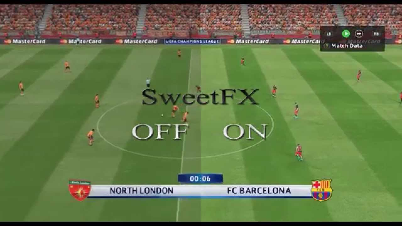 PES 2016 - Pro Evolution Soccer 2016 - SweetFX mod - gameplay PC ... PES 2016 - Pro Evolution Soccer 2016 - SweetFX mod - gameplay PC [graphics  mod] Windows 10 - YouTube