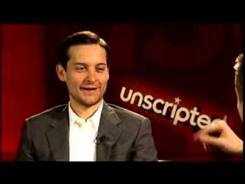 'Spider-Man 3' - Unscripted Part 1 - YouTube Tobey Maguire Moviefone