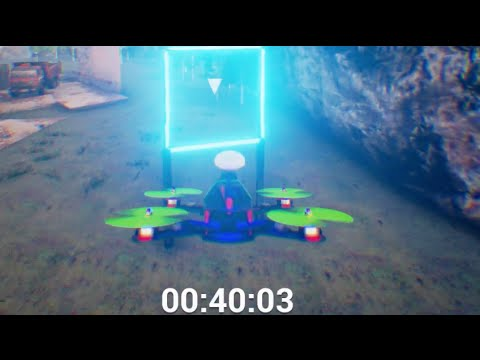 Drone Racing - Simulation Style - HARDEST GAME EVER